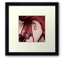 Kiss my.. Framed Print