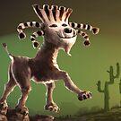 Super Cabra (goat) by Tom Godfrey
