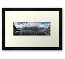 Derwent Water Panorama Framed Print