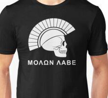 Molon Labe Skull Unisex T-Shirt