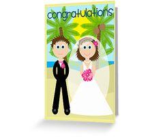 Wedding - Congratulations Greeting Card