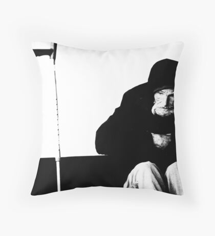 down, but not out (No: 21) Throw Pillow