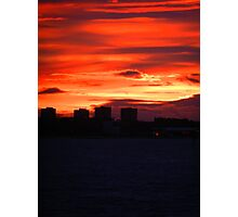 Leith Towers Photographic Print