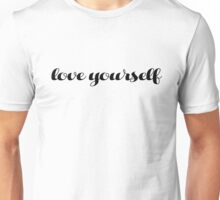 Love yourself Justin Bieber Unisex T-Shirt