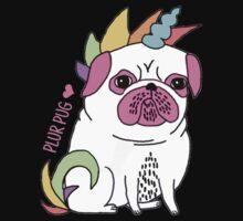Plur Pug One Piece - Long Sleeve