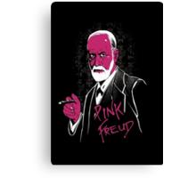 pink freud Canvas Print