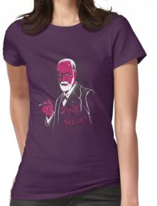 pink freud Womens Fitted T-Shirt