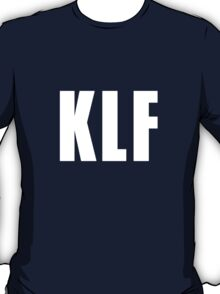 KLF (Letters Only, white) T-Shirt