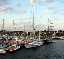 Sunset on Narragansett Bay 9 by reendan
