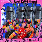 The Ned Kelly Gang (RoCo 6x6) by Penny Lewin - Hetherington