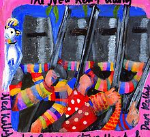 The Ned Kelly Gang (RoCo 6x6) by Penny Hetherington