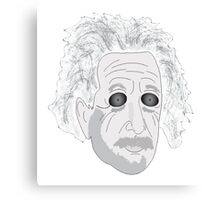 Trippy Einstein Canvas Print