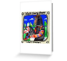 Ned Kelly and Harry Power Greeting Card