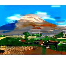 Extinct Volcano Photographic Print
