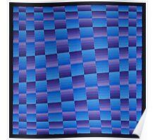 Vague Blur (Violet / Blue i) Poster