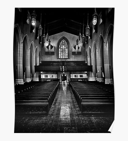 Metropolitan United Church 2 Toronto Canada Poster