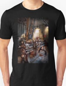 Machinist - Fire Department Lathe Unisex T-Shirt