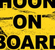 HOON on Board Sticker