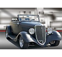 1934 Ford Cabriolet II Photographic Print