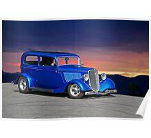 1934 Ford Tudor Sedan Poster