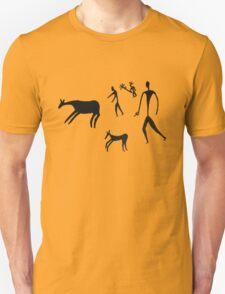 The dawn of man - Black Logo T-Shirt