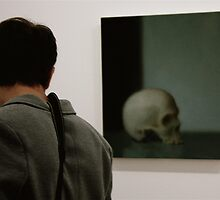 "Facing Reality ........... ""to be or not to be"" .......... (painting from Richter) by Clo Sed"