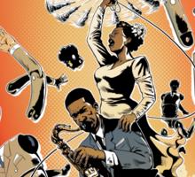 Lady Day & John Coltrane Sticker