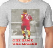 Francesco TOTTI -One Name, One Legend- Unisex T-Shirt