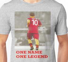 Francesco TOTTI -One Name, One Legend- Unisex T-Shirt
