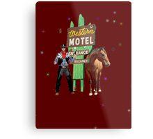 western motel Metal Print