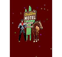 western motel Photographic Print