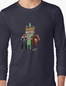 western motel Long Sleeve T-Shirt
