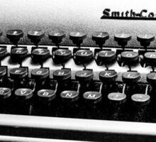 Smith-Corona Typewriter Sticker