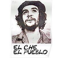 Che Guevara -El Pueblo- Poster