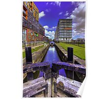 Lock 3 Ashton Canal Poster