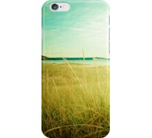 September at the Beach iPhone Case/Skin