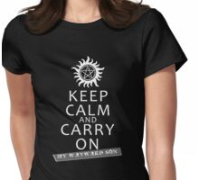 Keep Calm 2 Womens Fitted T-Shirt