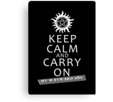 Keep Calm 2 Canvas Print