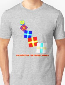 Design 2: Colonists of the Spiral Nebula T-Shirt