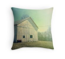 Early Morning in the Country Throw Pillow