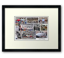 Silver Airways Photo Collage 1 Framed Print