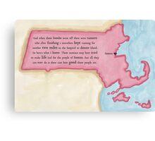 Boston Love Canvas Print
