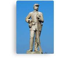 Statue of a Soldier - Antietam Battlefields, Sharpsburg MD Canvas Print