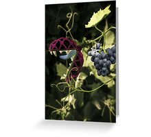 Don't Touch the Grapes Greeting Card