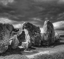 West Kennet Long Barrow by Colin Payne