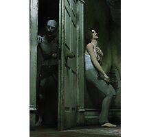 Necrophobia - Zombie Horror  Photographic Print