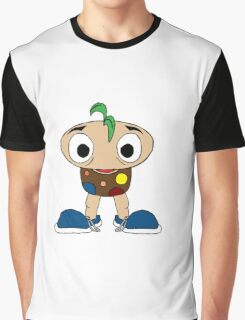 Mushroom Kid Graphic T-Shirt