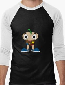 Mushroom Kid Men's Baseball ¾ T-Shirt