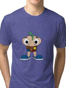 Mushroom Kid Tri-blend T-Shirt
