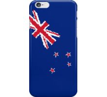 Smartphone Case - Flag of New Zealand - Diagonal Painted iPhone Case/Skin